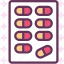 meds, medssdrugs, pharmacy, pill, treatment, treatmenttablet icon
