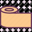 hospital, paper, toilet icon