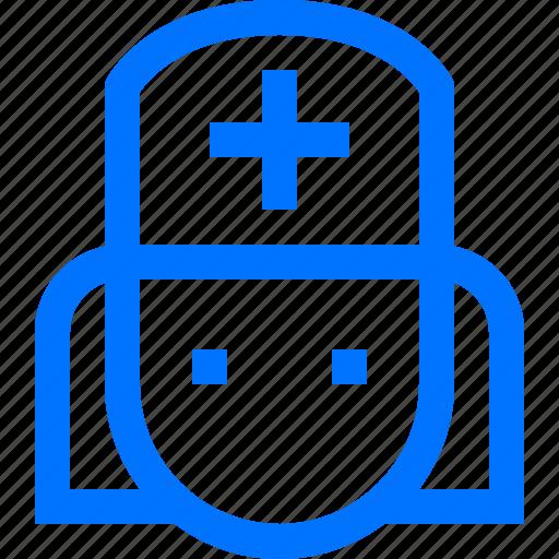 doctor, female, healthcare, hospital, medical, nurse, providers icon