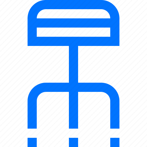 chair, hospital, medical, stool icon