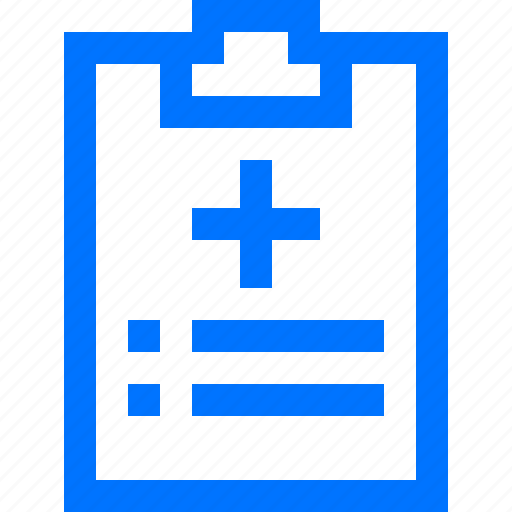clipboard, data, document, file, hospital, information, medical icon