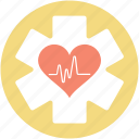 lifeline, health care, cardiology, heart care, star of life
