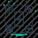 healthcare, medicine, mobile, mobile healthcare, professional icon