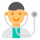 avatar, doctor, health, medical, stethoscope