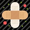 aid, bandage, injury