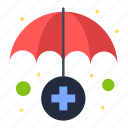 insurance, medical, service icon