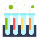 blood, experiment, test, tubes icon