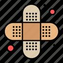 aid, injury, bandage icon