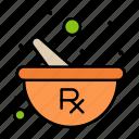 bowl, herbal, mixing, preparing