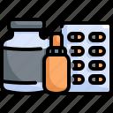bottle, drug, health, healthcare, hospital, medical, medicine icon