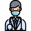 avatar, doctor, health, healthcare, hospital, medical, profile icon