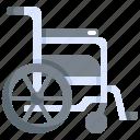 equipment, health, healthcare, hospital, medical, wheelchair icon