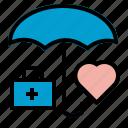 health, insurance, medical, umbrella