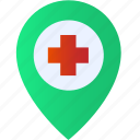 medical, care, doctor, health, hospital icon
