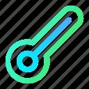 celsius, health, healthcare, medical, temperature, thermometer icon
