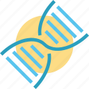 biology, dna, genetics, laboratory, research, science, tests icon