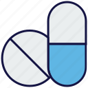 capsule, medical, medicine, pills, tablets icon