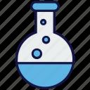 chemistry, flask, lab, medical, test tube icon