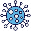 healthcare, medical, medicine, science, virus icon