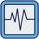 ecg, heartbeat, lifeline, machine, medical, pulse meter