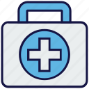 bag, doctor bag, medical, suitcase icon
