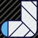 bandage, foot, hospital, injury, medical