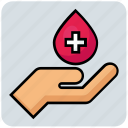 blood, donation, drop, hand, medical, transfusion