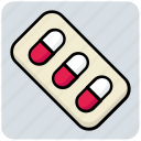 capsule, medical, medicine, pills icon