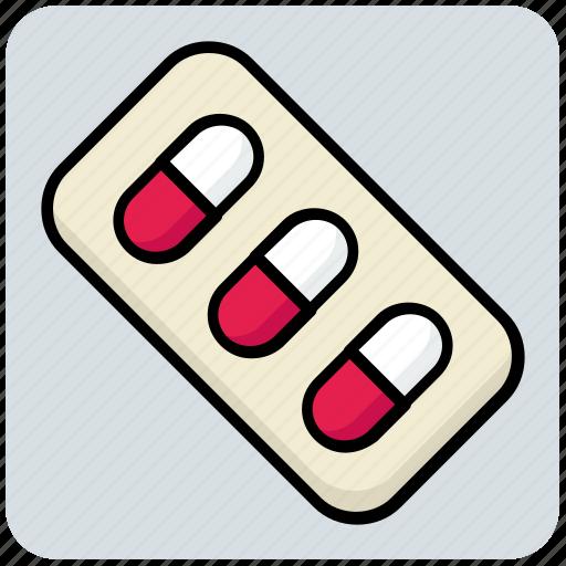 capsule, medical, medicine, pills icon