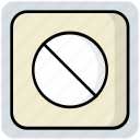 medical, medicine, pills, tablet icon