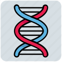 dna, helix, medical, research, science icon