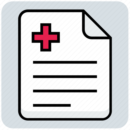 Document, file, medical, report icon - Download on Iconfinder