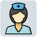 care, doctor, medical, nurse, staff icon