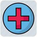 capture, circle, medical, plus, sign icon
