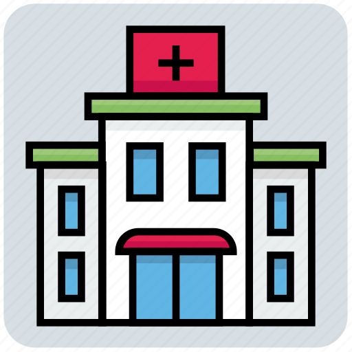 Building, clinic, hospital, medical icon - Download on Iconfinder