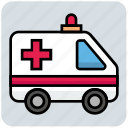 ambulance, emergency, healthcare, medical, transport