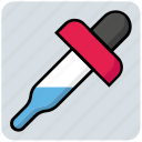 dropper, medical, medicine, picker, pipette icon