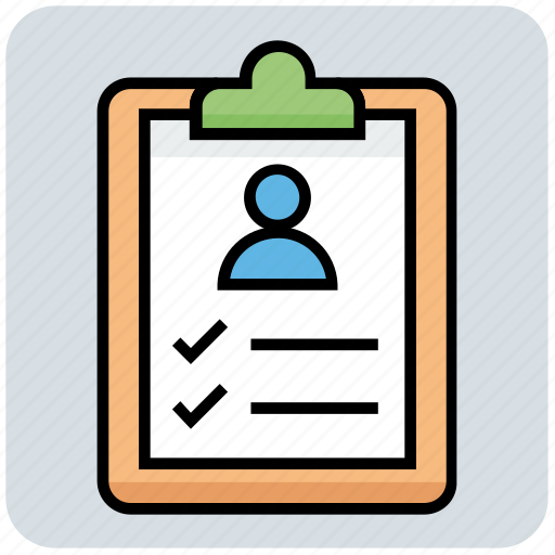 Clipboard, document, medical, patient, report icon - Download on Iconfinder