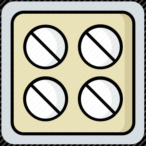 medical, medicine, pills, tablets icon
