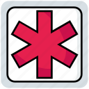 aid, medical, medicine, sign, test icon