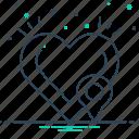 defibrillator, defibrillator location, location, map icon