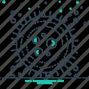 biology, cell, dna, stem, stem cell icon