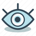 eye, health, medical, medicine icon