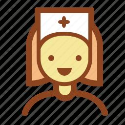 doctor, female, healthcare, medic, nurse icon