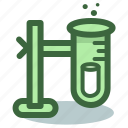 chemical, chemistry, experiment, test, tube icon