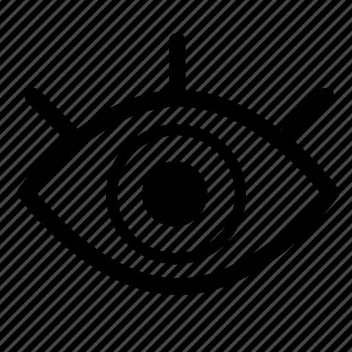 eye, health, medical, medicine icon
