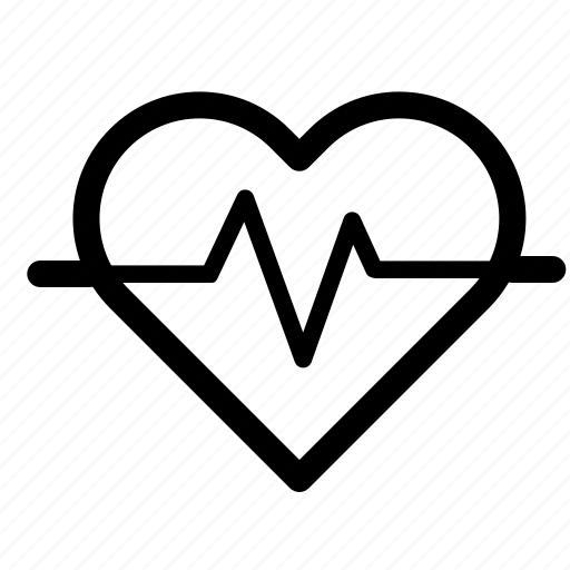 beat, cardio, health, heart, heartbeat, pulse icon