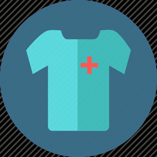 cloth, male, medical, nurse, provider, staff, tshirt icon