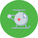 chopper, copter, emergency, fying, helicopter, medical, transport icon