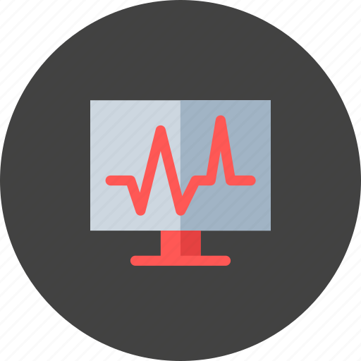 cardiogram, health, medical, medicine, pulse, treatment icon